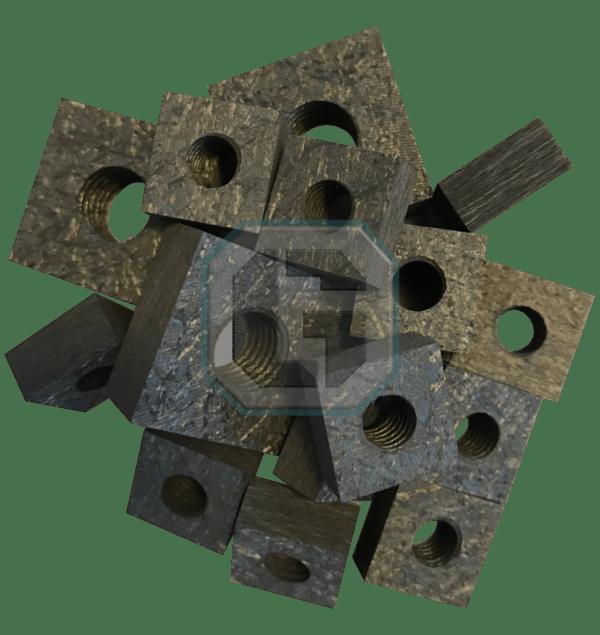 CFC Nuts - Square