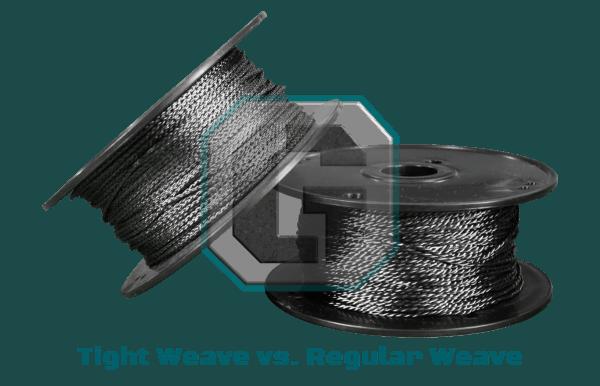 Carbon Cordage - Tightweave vs Regular